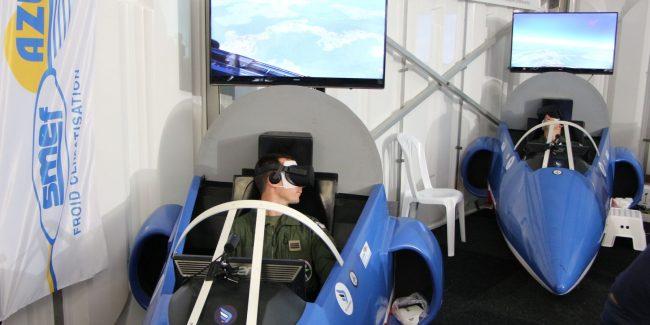 Simulation de vol VR