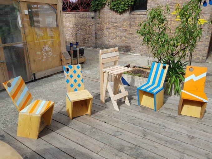 Chaise-en-bois-de-palette