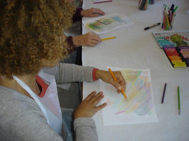 Sabine Linais- Coaching en créativité par la peinture