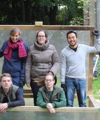Ferme Saint-Lazare – ateliers maraîchage, apiculture, éco-construction