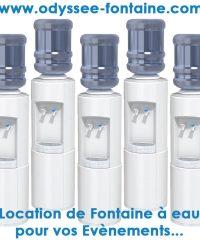 LOCATION DE FONTAINE A EAU BONBONNE